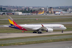 A350-900 Asiana Airlines // msn : 361 (Luc_slf) Tags: airbus asiana airlines asianaairlines jal japanairlines aéronautique aeronaitics a350 aeroporttoulouseblagnac avion aeroport aviation plane