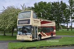 Go Ahead East Yorkshire 886, PL51LDJ. (EYBusman) Tags: go ahead north east yorkshire motor services eyms hull bus coach platoon president volvo b7tl open top park rose village carnaby bridlington london central regional transport buses pl51ldj eybusman