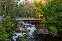 Early Morning Lepper Brook | Victoria Park, Nova Scotia (TheNovaScotian1991) Tags: victoriapark colchestercounty nikond3200 lepperbrook novascotia canada water rapids cascades waterfall bridge woods forest beautiful landscape morning morninglight afsdxnikkor1855mmf3556gvrii truro outdoor