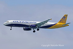 A321 SX-ACP OLYMPUS (shanairpic) Tags: jetairliner passengerjet a321 airbusa321 monarch olympus gojeg sxacp