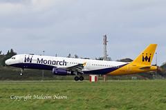 A321 G-OJEG MONARCH (shanairpic) Tags: jetairliner passengerjet a321 airbusa321 monarch olympus gojeg sxacp