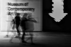 when life gets blurry adjust your focus (gro57074@bigpond.net.au) Tags: guyclift nikon d850 sigma artseries 105mmf14 f13 bw blackwhite mono monotone monochromatic may2019 sydney museumofcontemporaryart contemporary motion motionblur blur movement slow shutter blurry whenlifegetsblurryadjustyourfocus