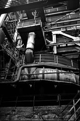 Wall O' Pipes (Peppermantwist, once again) Tags: pipe tube industry catwalk steel iron works blast furnace heavy