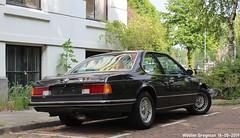 BMW E24 635 CSi automatic 1987 (XBXG) Tags: 30sjd4 bmw e24 635 csi automatic 1987 bmwe24 bva automatique noir black plantage muidergracht amsterdam nederland holland netherlands paysbas youngtimer old german classic car auto automobile voiture ancienne allemande germany deutsch duits deutschland vehicle outdoor