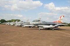 (scobie56) Tags: general dynamics f16am fighting falcon viper j879 322 squadron rnaf dutch royal netherlands air force riat 2019 tattoo fairford