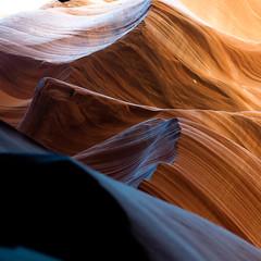 In Canyons 342 (noahbw) Tags: az antelopecanyon arizona d5000 dof lowerantelopecanyon nikon abstract blur canyon depthoffield desert erosion light lines natural noahbw rock shadow slotcanyon spring square stone