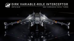 Dirk Variable-Role Interceptor (Ariklego) Tags: lego dirk interceptor starfighter star fighter starship spaceship
