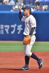 DSC_0600 (Kao.O) Tags: baystars 横浜denaベイスターズ 横浜スタジアム ハマスタ プロ野球 オープン戦 2019