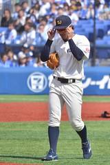 DSC_0421 (Kao.O) Tags: baystars 横浜denaベイスターズ 横浜スタジアム ハマスタ プロ野球 オープン戦 2019