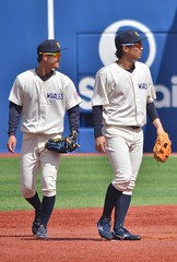 DSC_0266 (Kao.O) Tags: baystars 横浜denaベイスターズ 横浜スタジアム ハマスタ プロ野球 オープン戦 2019
