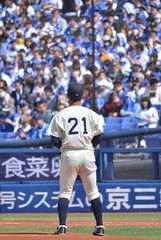 DSC_0528 (Kao.O) Tags: baystars 横浜denaベイスターズ 横浜スタジアム ハマスタ プロ野球 オープン戦 2019