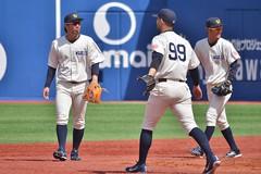 DSC_0264 (Kao.O) Tags: baystars 横浜denaベイスターズ 横浜スタジアム ハマスタ プロ野球 オープン戦 2019