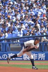 DSC_0530 (Kao.O) Tags: baystars 横浜denaベイスターズ 横浜スタジアム ハマスタ プロ野球 オープン戦 2019