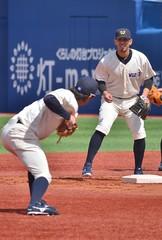 DSC_0245 (Kao.O) Tags: baystars 横浜denaベイスターズ 横浜スタジアム ハマスタ プロ野球 オープン戦 2019