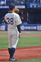 DSC_0136 (Kao.O) Tags: baystars 横浜denaベイスターズ 横浜スタジアム ハマスタ プロ野球 オープン戦 2019