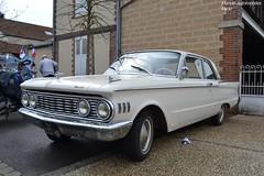 Mercury Comet (Monde-Auto Passion Photos) Tags: voiture vehicule auto automobile mercury comet coupé blanc white ancienne classique rare rareté collection rassemblement france courtenay