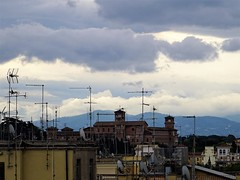 Storm clouds. (Ia Löfquist) Tags: rome rom roma italy italien italia maj may
