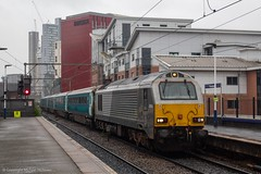 Transport for Wales/DB Cargo 67014 (Mike McNiven) Tags: transportforwales tfw wales transport db dbcargo loco locomotive manchester piccadilly deansgate holyhead locohauled wag