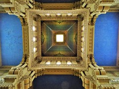 The amazing ceiling with the colours of the rainbow. (Ia Löfquist) Tags: rome rom roma italy italien italia maj may