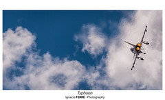 Typhoon (Ignacio Ferre) Tags: getafe legt madrid españa spain ejércitodelaire spanishairforce eurofighter2000 eurofighter typhoon spotting nikon aircraft airplane airshow aeronave avión aviation aviación military militar