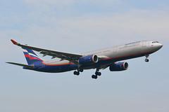 VQ-BPK Aeroflot Airbus A330 EGLL 22/4/19 (David K- IOM Pics) Tags: egll lhr london heathrow 09l airbus a330 330300 aeroflot a333 su vqbpk