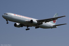 C-FTCA (Baz Aviation Photo's) Tags: cftca boeing 767375er air canada aca ac heathrow egll lhr 27l ac888