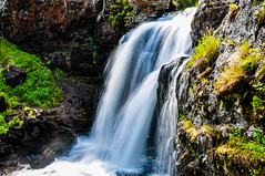 Moose Falls (Michael Kerick) Tags: wyoming grandteton 2009