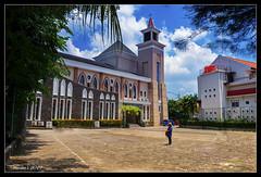 """St Petrus Indonesia (VERODAR) Tags: church stpetrus stpeters batam riau riauisland indonesia building religion worship"""" sky clouds trees nikon verodar veronicasridar ngc nationalgeographicworldwidegroup"""