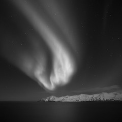 Aurora (frodi brinks photography) Tags: iceland blackandwhite frodibrinks auroraborealis aurora northernlights
