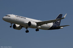 D-AINM (Baz Aviation Photo's) Tags: dainm airbus a320271n lufthansa dlh lh heathrow egll lhr 27l