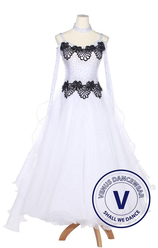 d21451b5e Black Lace Ballroom Competition Women Dance Dress Standard Waltz Smooth  Foxtrot (Venus Dancewear) Tags
