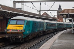 Transport for Wales 82308 (Mike McNiven) Tags: transportforwales transport wales tfw manchester piccadilly deansgate holyhead loco locohauled diesel drivervantrailer dvt manchesterpiccadilly
