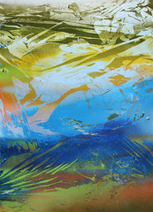 Episode 02 (SERGEY AKRAMOV) Tags: sergeyakramov сергейакрамов art artwork fineart paint postgraffiti painting paper print streetart sprayart spray spraypaint