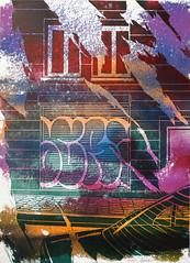Street layer 4/10 (SERGEY AKRAMOV) Tags: sergeyakramov сергейакрамов art artwork car carpediem fineart sprayart streetart graffiti graffuturism postgraffiti linogravure paint painting paper print