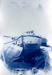 (kristian k lehne) Tags: cyanotype pinhole print kristianlehnefoto longexposure largeformat monochrome tromsø analog film filmphotography homemade