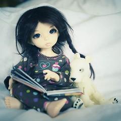 Rowan and her tiny imaginary friend 💙 (emmr_ {bjd}) Tags: ifttt instagram