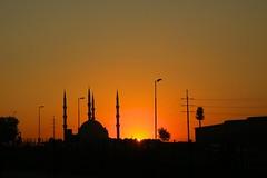 Nizamiye Mosque - Midrand (peet-astn) Tags: mosque midrand gauteng southafrica sunrise sun dawn nizamiye complex nizamiyecomplex turkish