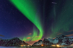 Northern Lights (hph46) Tags: norwegen norway lofoten polarlichter northernlights auroraborealis skagsanden sony alpha7r canonef1635mm14lisusm