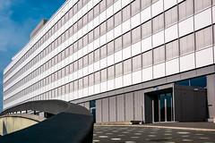 N°4 (alain.winterberger) Tags: lausanne architecture batiment immeuble suisse switzerland schweiz svizerra building lines carré perspective lignes