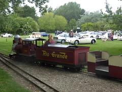 Rio Grande & Classic Cars (andreboeni) Tags: riogrande miniature railway railroad lodmoor countrypark weymouth dorset