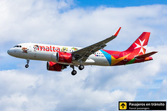 Airbus A320neo Air Malta (Nickelodeon livery) 9H-NEO (Ana & Juan) Tags: airplane airplanes aircraft airport aviation aviones aviación airbus a320 a320neo air malta landing london londres heathrow egll lhr spotting spotters spotter planes canon closeup clouds