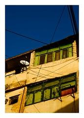 Immeubles d'Assouan (Marie Hacene) Tags: egypte assouan immeuble rue street fenêtres ciel