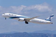 El Al Israel Airlines Boeing 787-9 4X-EDC (jbp274) Tags: klax lax airport airplanes boeing 787 dreamliner elal israelairlines ly