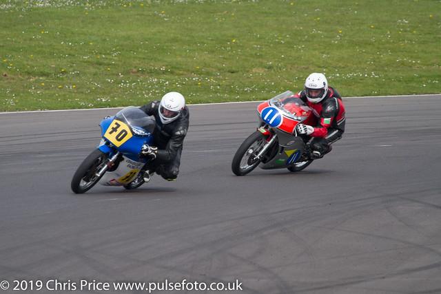 CRMC Castle Combe Race 9 ACU Classic 500cc  Qualifying