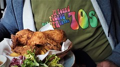 Chicken in a Basket (mitchell_dawn) Tags: 70s 1970s pubfood chickeninabasket retro backintime