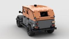 GAZ 69a (dimkablinov) Tags: lego moc technic vehicle car 4x4 gaz retro