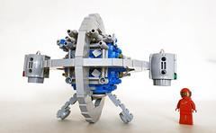 NCS Chronoscaphe (John C. Lamarck) Tags: brickpirate bpchallenge lego starship time machine sf ncs
