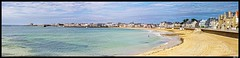 Quiberon_Panorama2 (.MLN) Tags: france brittany morbihan quiberon peninsula kiberen beach bay bretagne