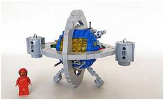 NCS Chronoscaphe (John C. Lamarck) Tags: brickpirate bpchallenge lego starship time machine sf ncs classicspace spacecraft space