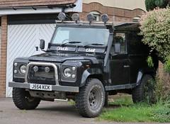 J554 KCK (Nivek.Old.Gold) Tags: 1991 land rover defender 90 tdi hardtop 2495cc
